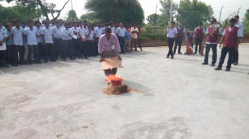 FIRE MARK DRILL TRAINING CONDUCTED IN KFTI COMPANY